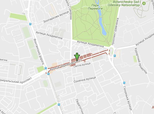 Черняховського вулиця