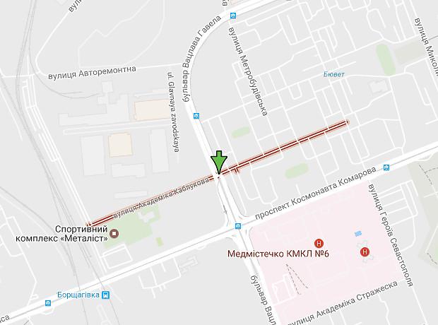 Академика Каблукова улица
