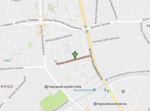 Александра Попова переулок