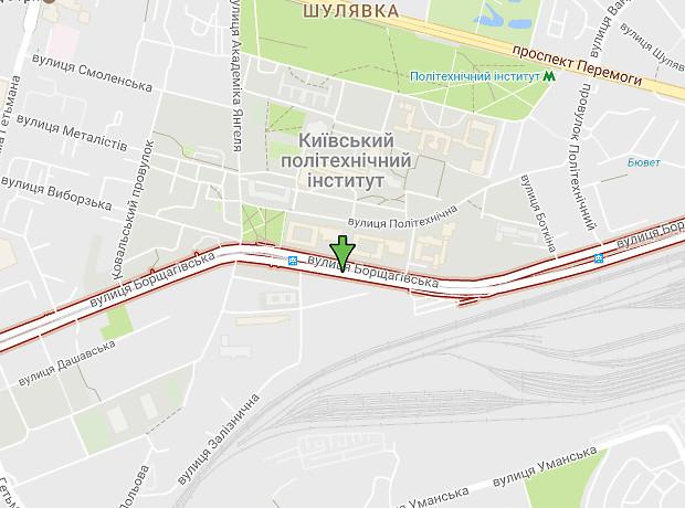 Борщагівська вулиця