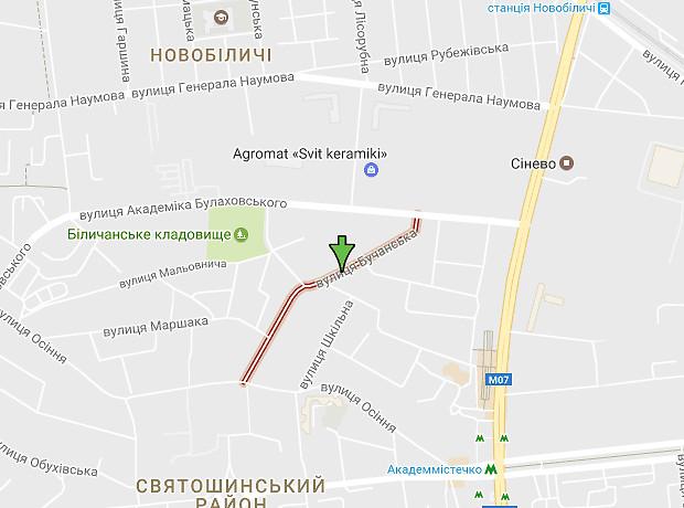 Бучанская улица