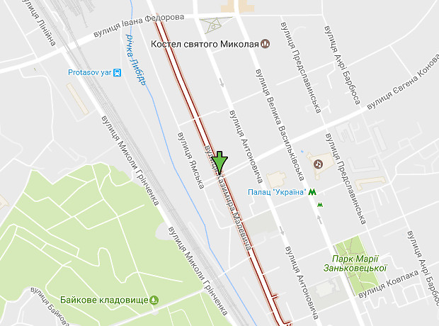 Василия Боженко улица