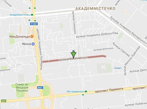 Василия Стуса улица