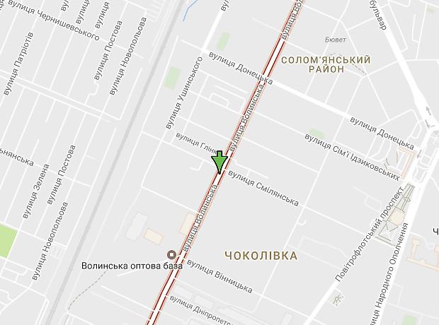 Воровського Вацлава вулиця