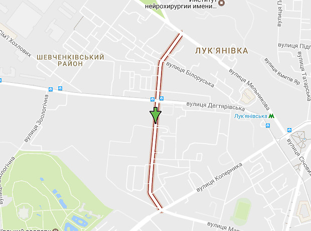 Довнар-Запольского улица