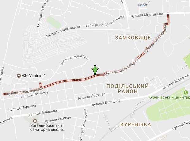 Замковецкая улица