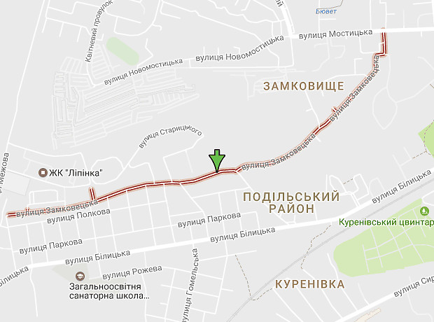Замковецька вулиця