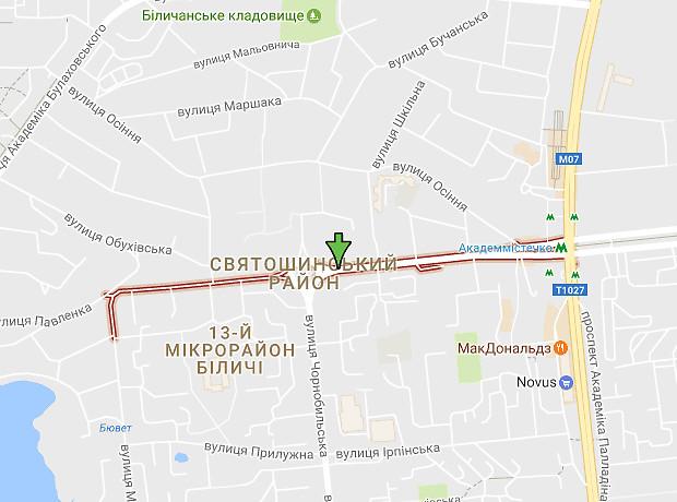 Командарма Уборевича улица