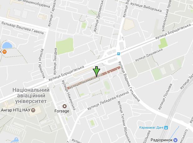 Леваневського вулиця