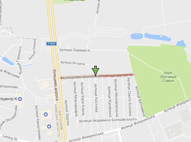 Мельниченко улица