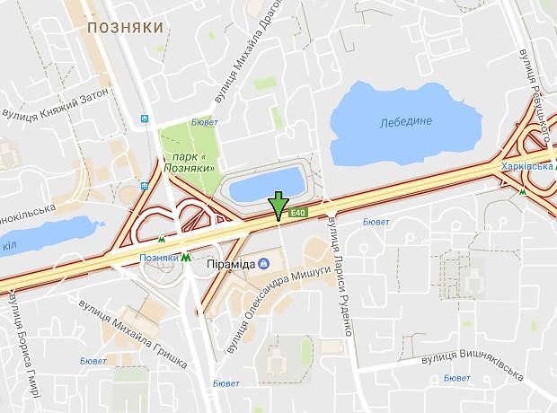Николая  Бажана проспект