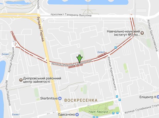 Николая Кибальчича улица