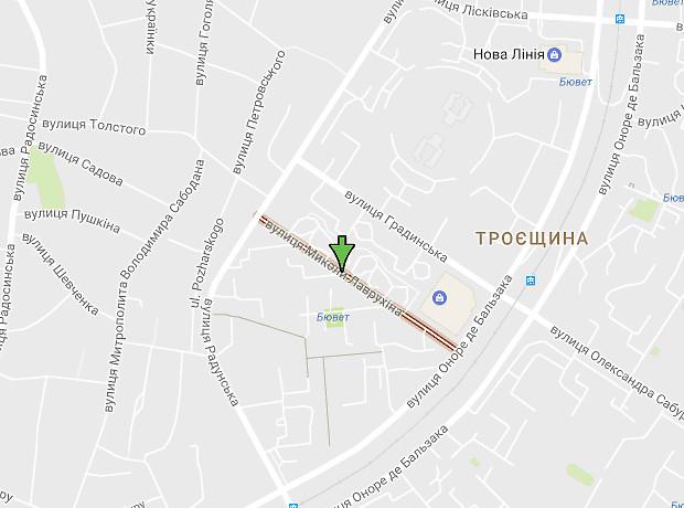 Миколи Лаврухіна вулиця