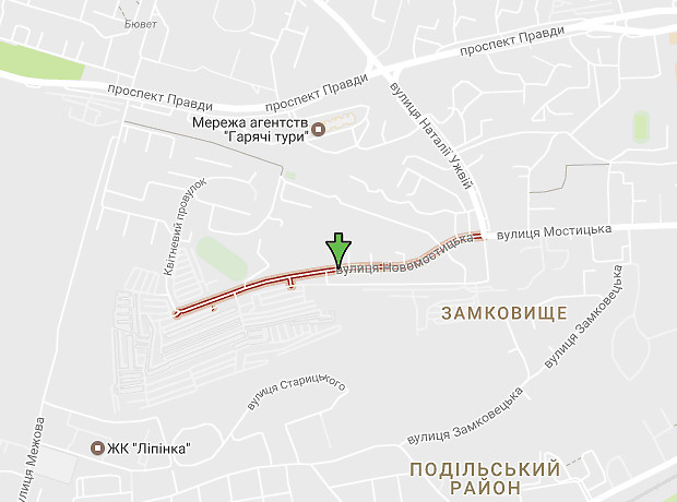 Новомостицкая улица
