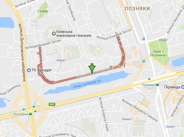 Срибнокильская улица
