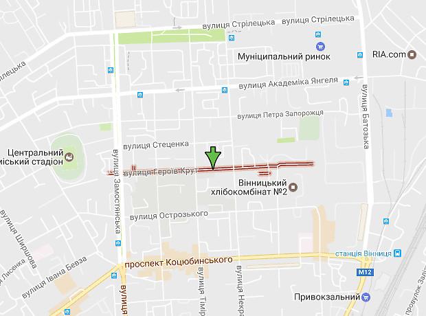 Червоних Курсантів вулиця