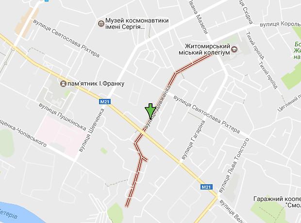 Довженко улица
