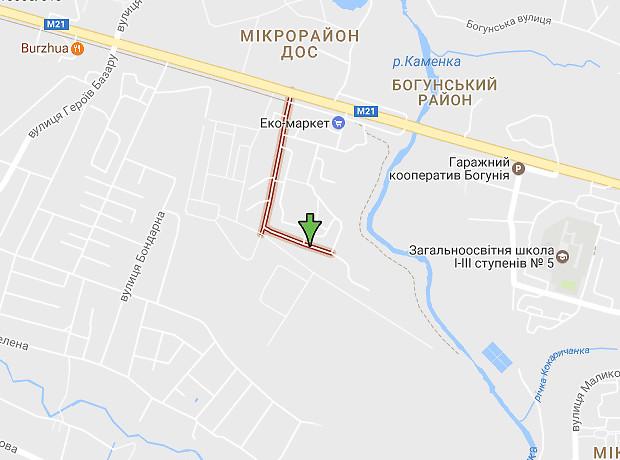 Жукова Маршала вулиця