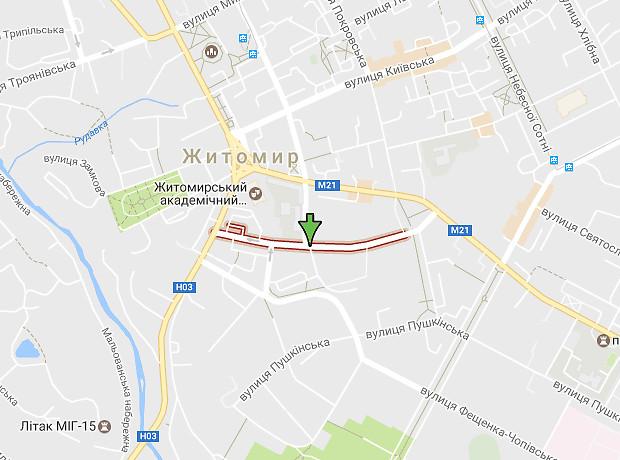 Малая Бердичевская улица