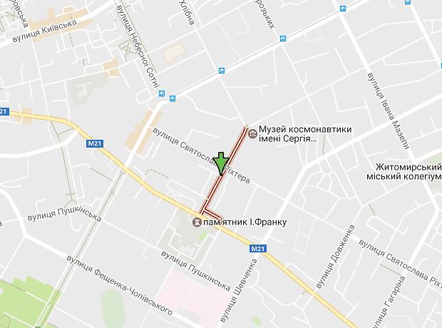 Франко Ивана улица