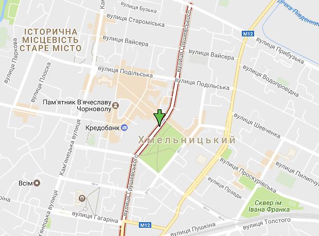 Грушевського Михайла вулиця