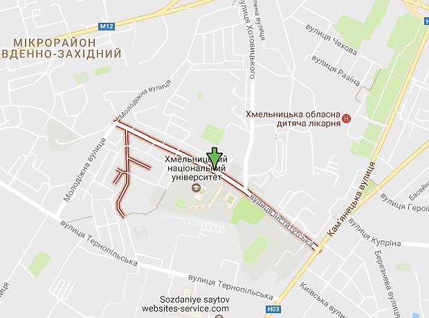 Институтская улица