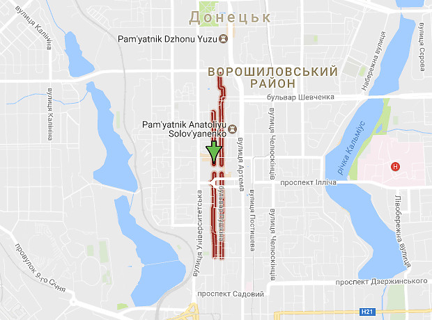 Пушкіна бульвар