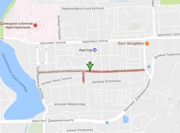 Капитана Ратникова улица