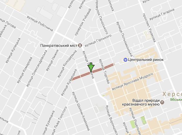 Георгия Полякова улица