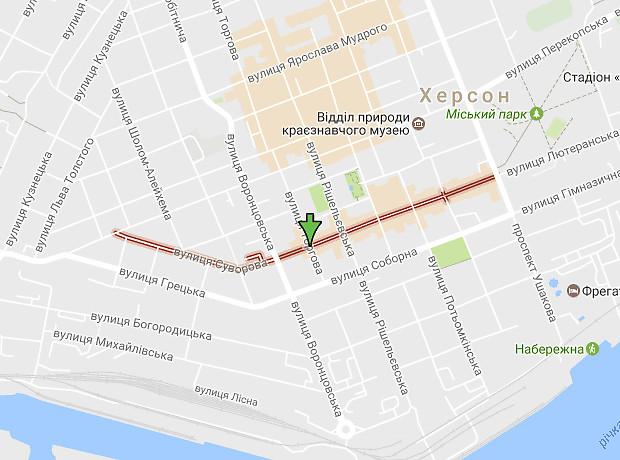 Суворова улица