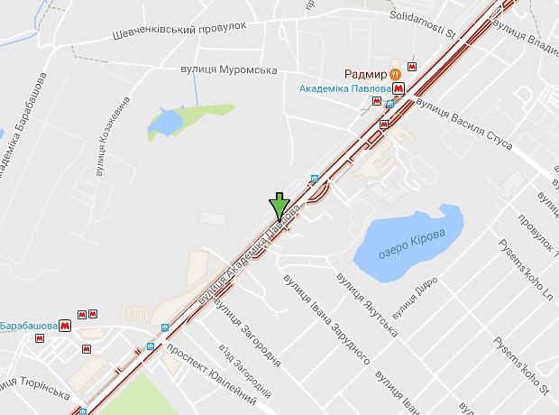 Академика Павлова улица