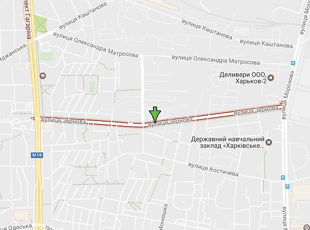 Зерновая улица