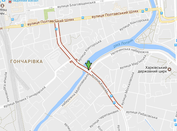 Конева улица