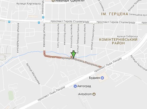 Федоренко улица