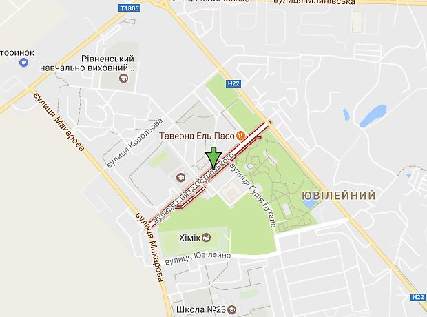 Князя Острожского улица