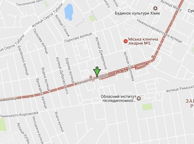 Охтирська вулиця