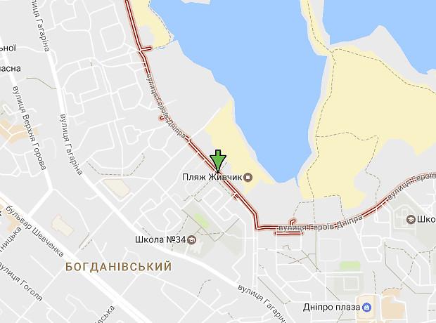 Героев Днепра улица
