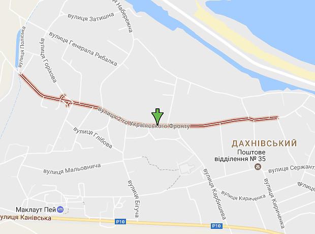 2 Украинского Фронта улица
