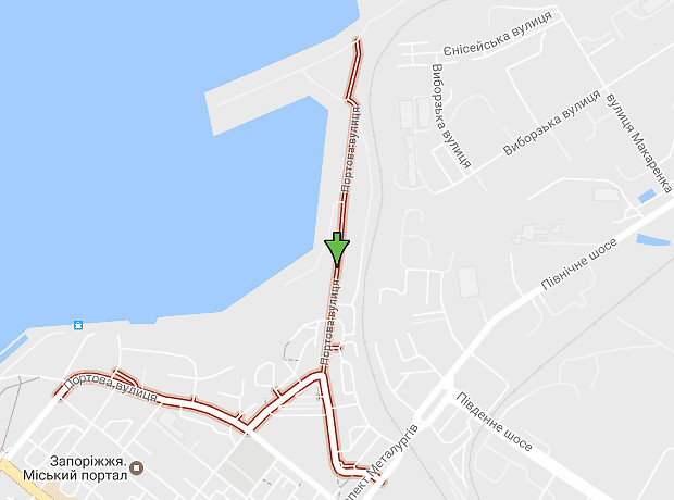 Портовая улица