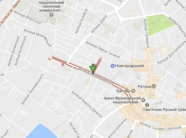 Бельведерська вулиця
