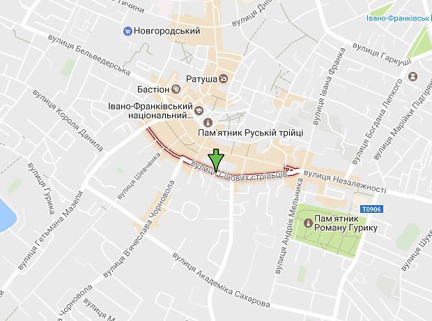 Сечевых Стрельцов улица