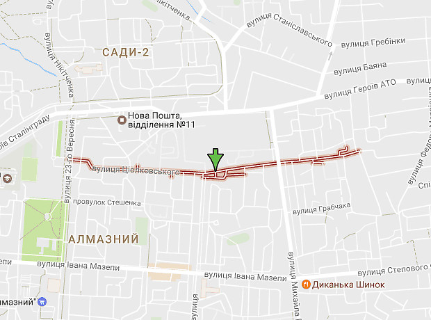 Циолковского улица