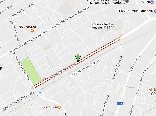 Космонавтов улица