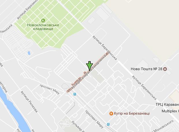 Захарченко Генерала улица