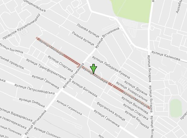 Мольера улица