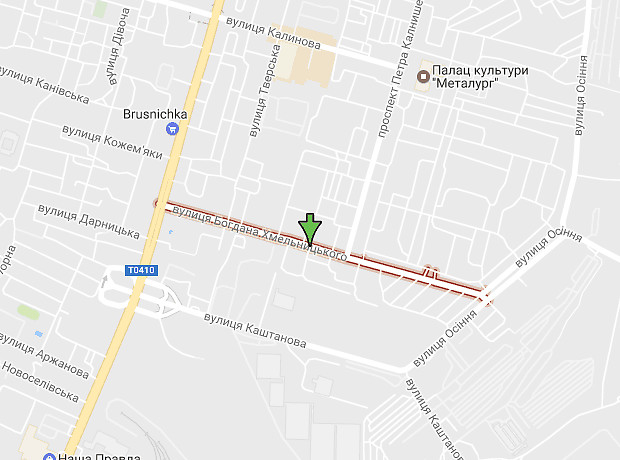 Хмельницкого Богдана улица