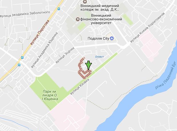 Анатолія Бортняка улица