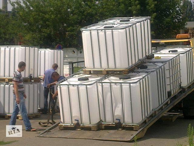 Емкость для полива територий. Еврокуб 1000л- объявление о продаже  в Киеве