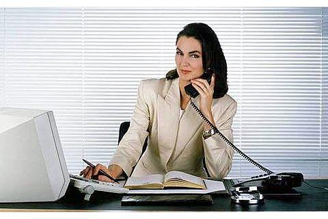 вакансии секретарши: