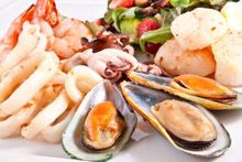 Морепродукты: молюски и ракообразные